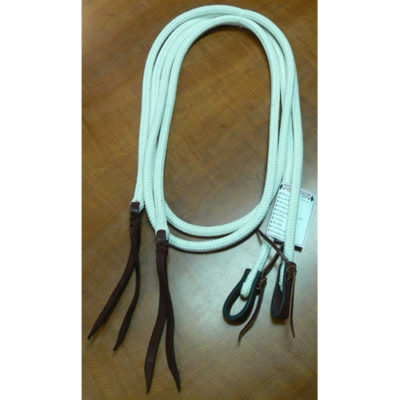 "Double Diamond 1"" x 7' Tree Line Rope Split Reins"