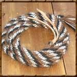 """Custom Rawhide 5/8"""" Horsehair Mecate"""