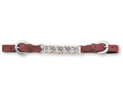 Bit hobble leather with rawhide loops
