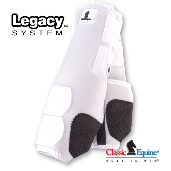 Classic Equine Legacy System Front Sports Boots
