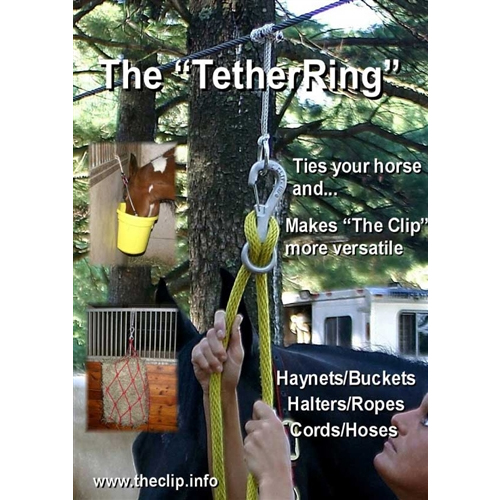 The Safe Clip Tether Ring