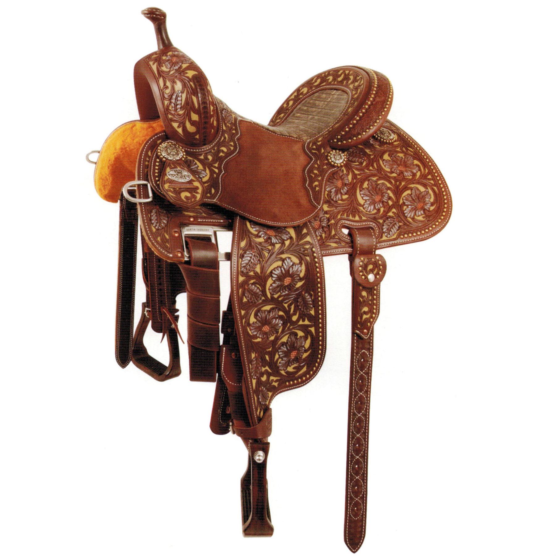 Martin Saddlery Cowboy Spur Strap Standard Natural
