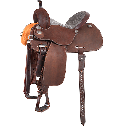 Crown C Sherry Cervi Barrel Racing Saddle