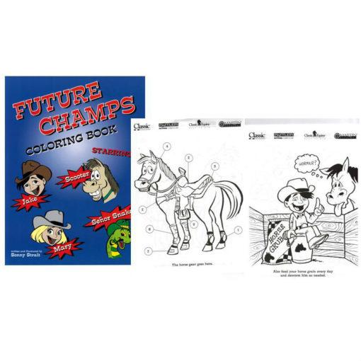 Future Champs Coloring Book