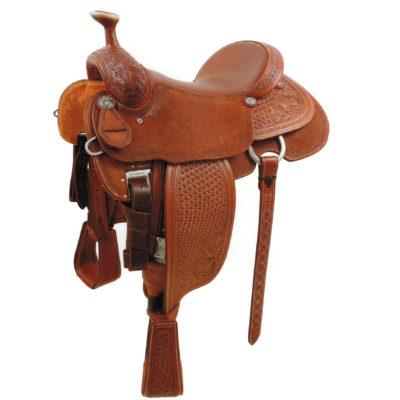 Martin Rickey Green Team Roper Saddle