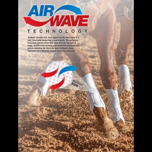 Classic Equine Air Wave EZ Wrap II Splint Boots