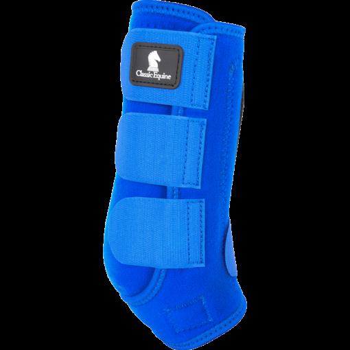 Blue color CE boots