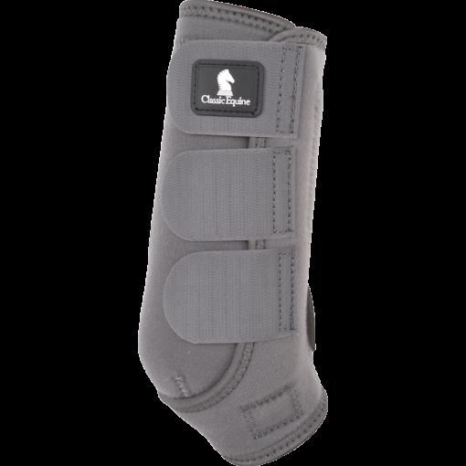 Ash color CE boots