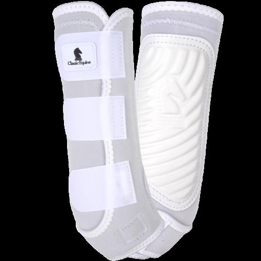 White color CE boots