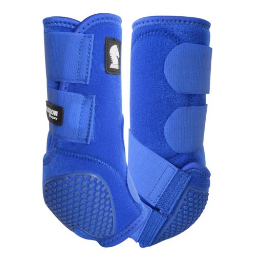 blue horse boots