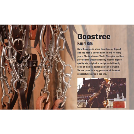 Classic Equine Goosetree Simplicity Twisted Wire Snaffle Bit GTSBIT12