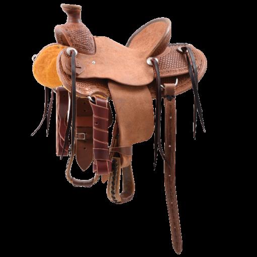 "Cashel Cowboy Kids Rancher Saddle 12"" Seat"
