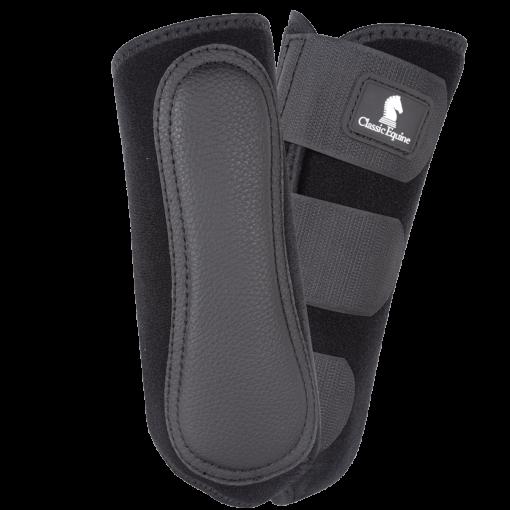 Classic Equine EZ Wrap Lite Front Protection Boots - Black